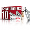 Cream Whip Chargers - 10 Pack