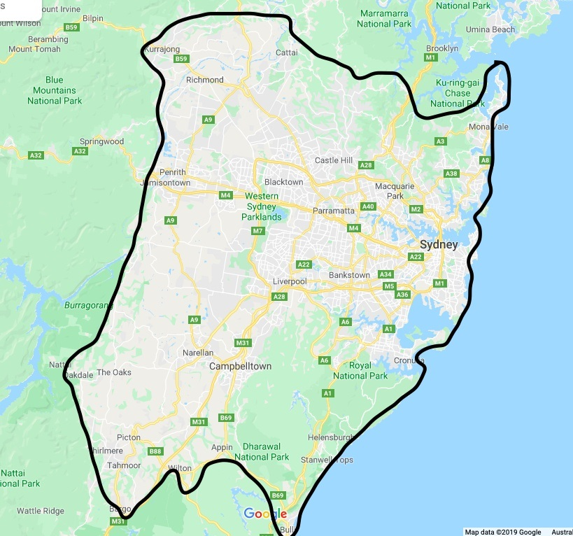 Nang Delivery Sydney (Delivery Range - New)